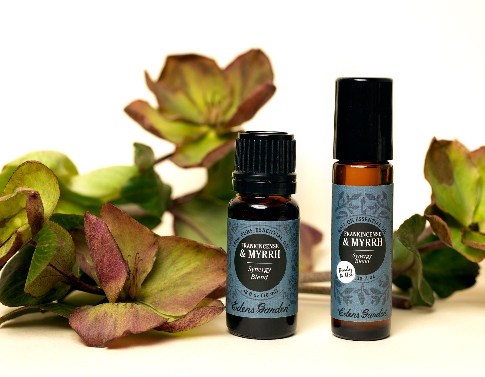 8 Amazing Benefits of Frankincense & Myrrh Synergy Blend