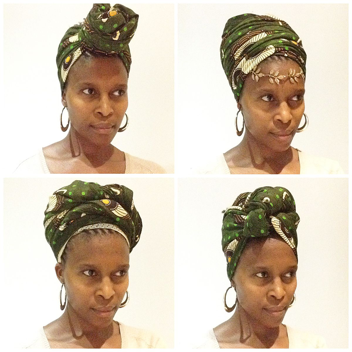Our favourite hair accessory... the doek/tuku/ head wrap/ head scarf ...