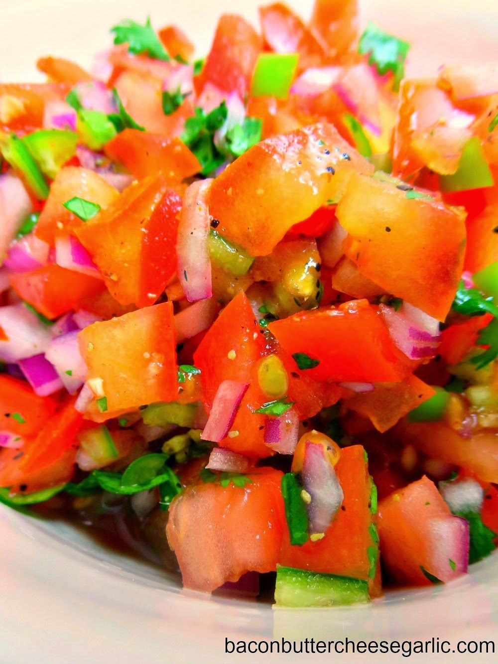 If you've never had Pico de Gallo, it's a fresh little salsa or condiment for…
