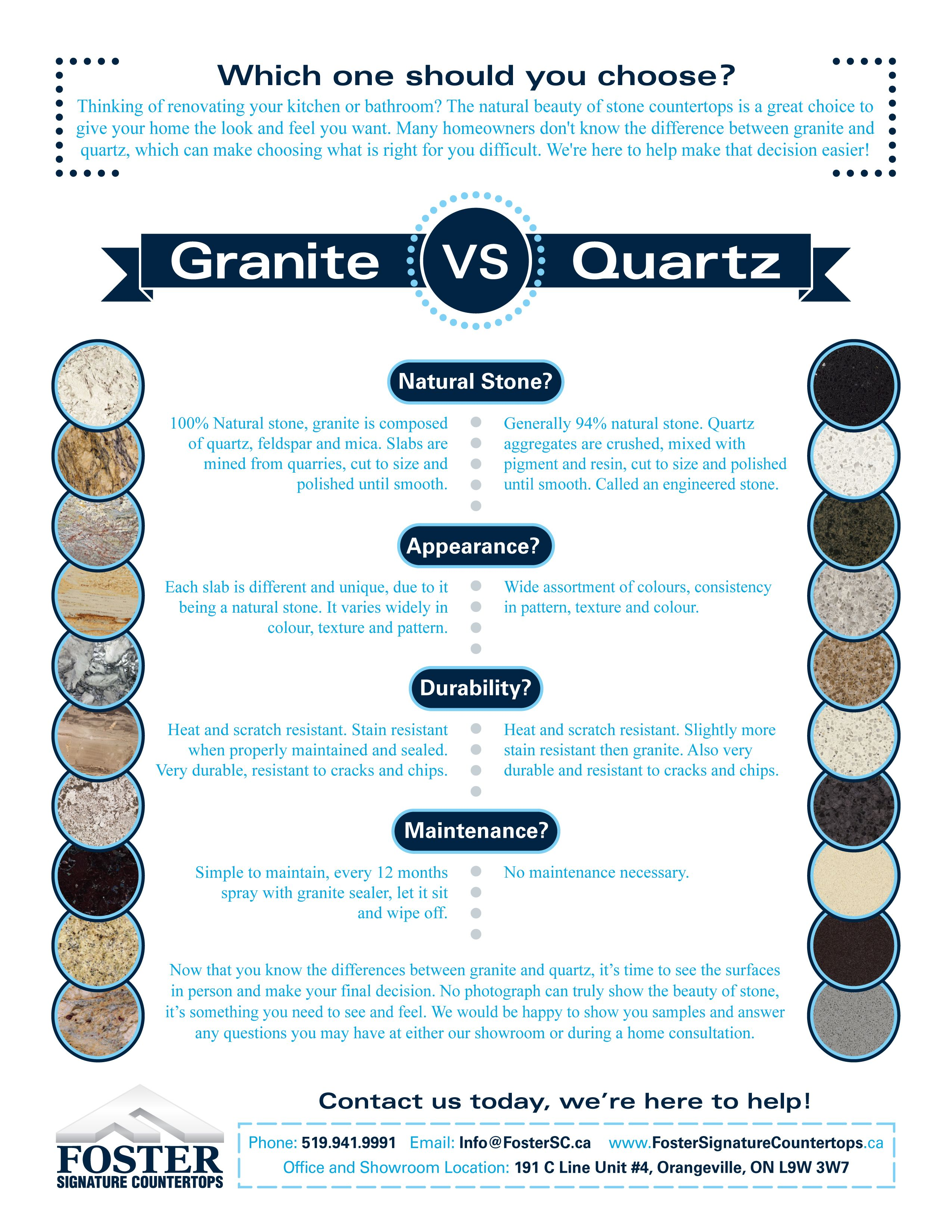 Granite Vs Quartz Which Is The Better Choice For You At