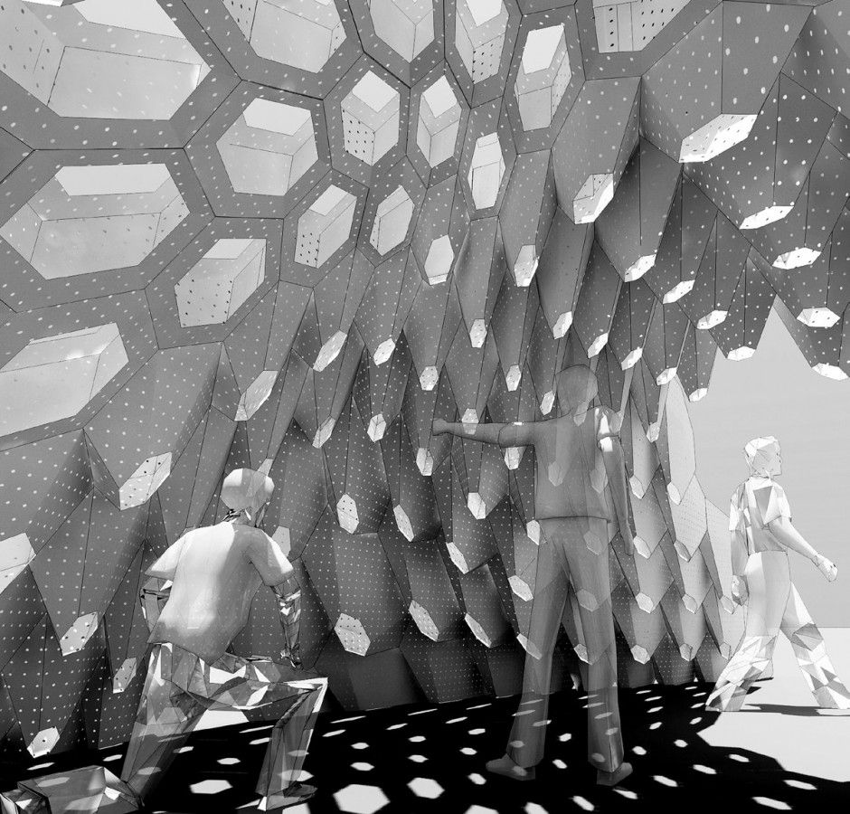 Hexigloo Is A Fully Parametrically Designed Pavilion Resulting Out Of A  Seven Day Workshop In Bucharest Romania Organized By Tudor Cosmatu, Irina. Great Ideas
