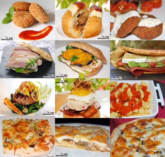 Doce recetas de comida r pida casera tapas yummy yummy Menu comida casera