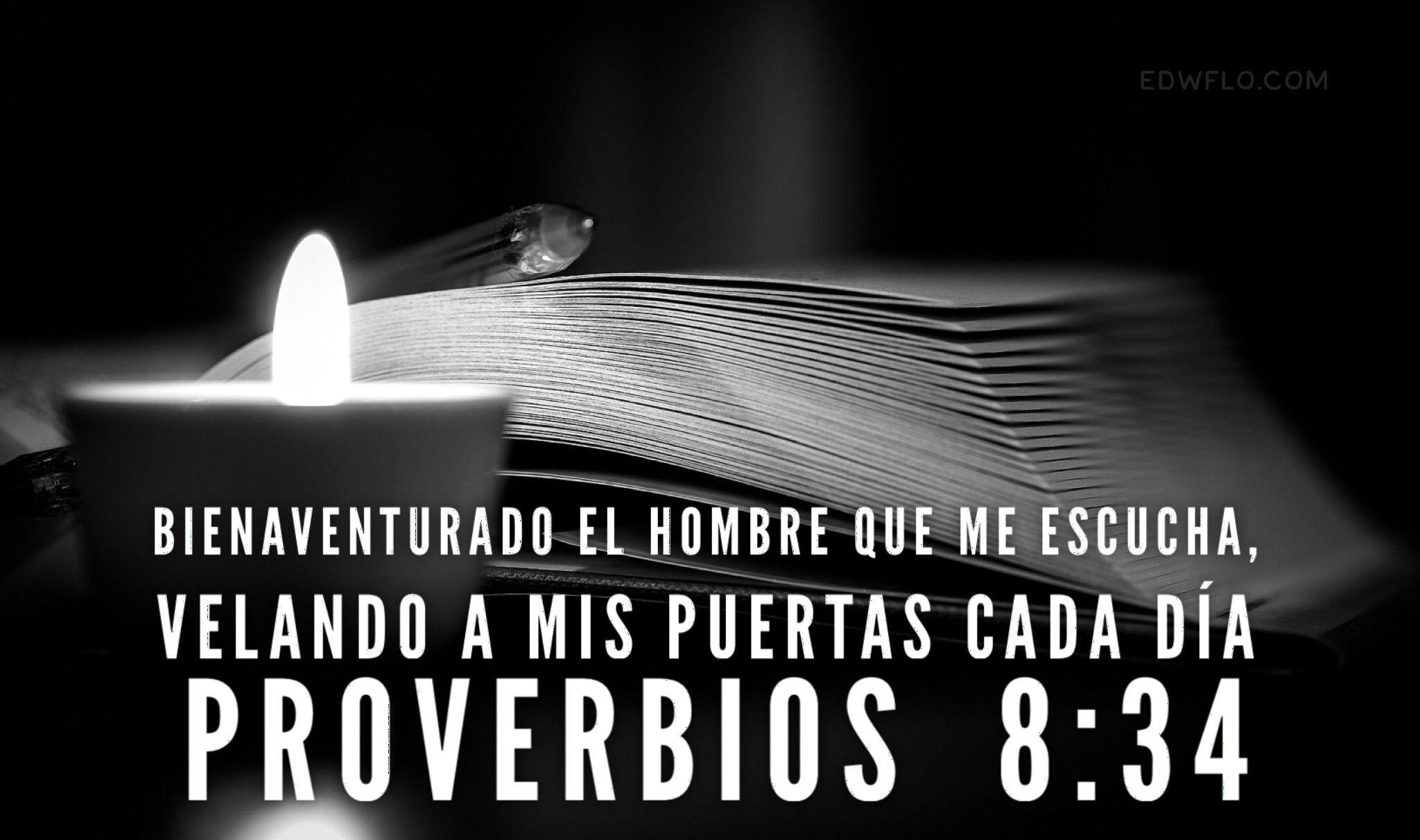 Resultado de imagen para proverbios 8: 34