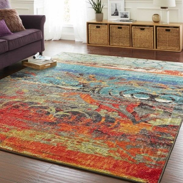 Overstock Com Online Shopping Bedding Furniture Electronics Jewelry Clothing More Colorful Area Rug Cool Rugs Area Rugs