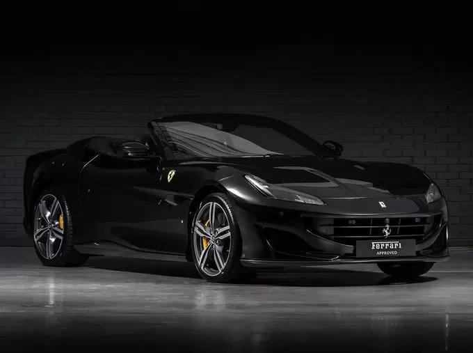 2019 Ferrari Portofino Nero Daytona Ferrari Portofino Black Rims