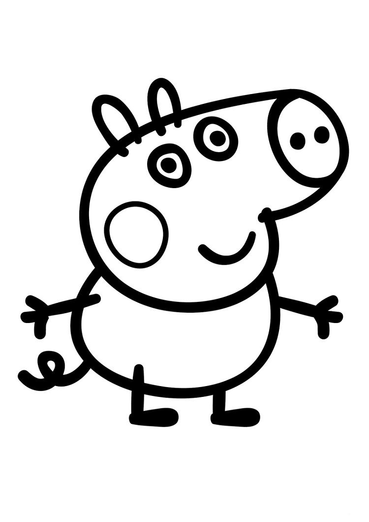 Toddlers Coloring Pages Peppa Pig Desenhos Para Colorir Peppa Peppa Pig Para Colorir Porquinha Peppa