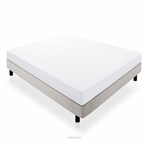 Lucid 10 Dual Layered Gel Memory Foam Mattress Twin Xl Foam
