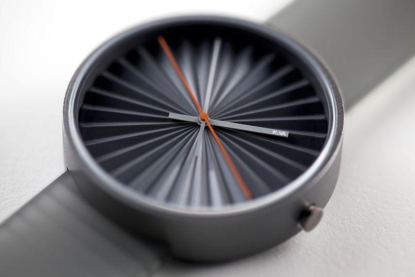 Plicate, new watch design by Benjamin Hubert