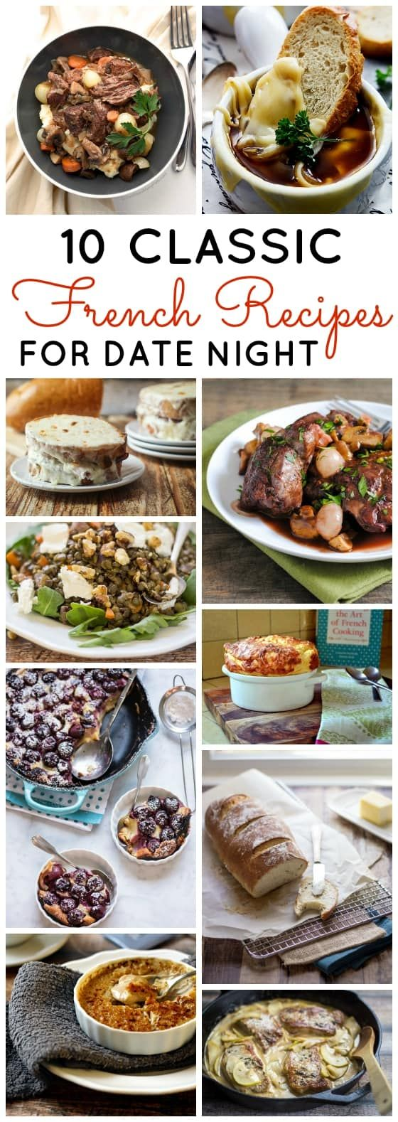 Photo of 10 Classic French Recipes for Date Night – Th