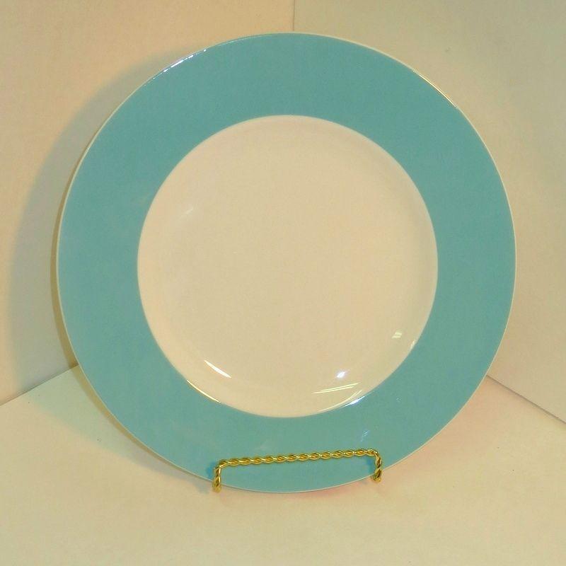 Lenox Continental Dining Aqua Salad Plate Single