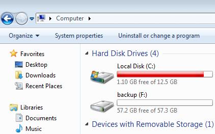 Pin En Windows 7