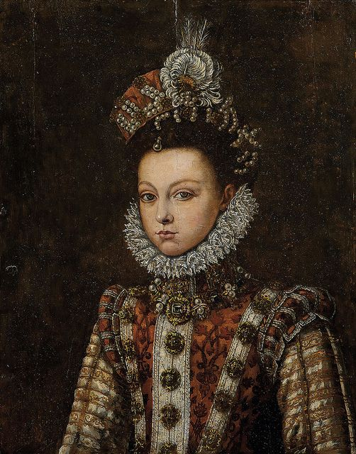 Fernando Duran retrato de mujer, ca.1599 : Burton Constable Hall