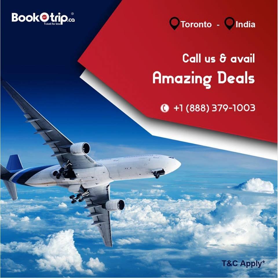 toronto flight deals & travel specials