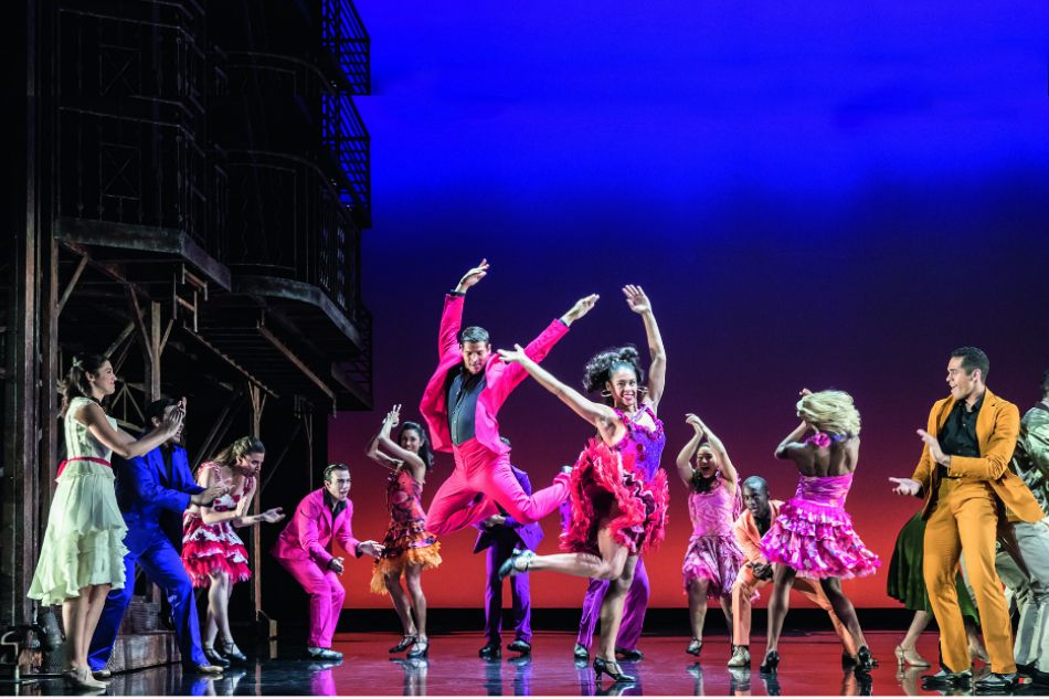 Theater Review Breathtaking Dancing Timeless Score Lift West Side Story West Side Story Theatre Reviews Concert
