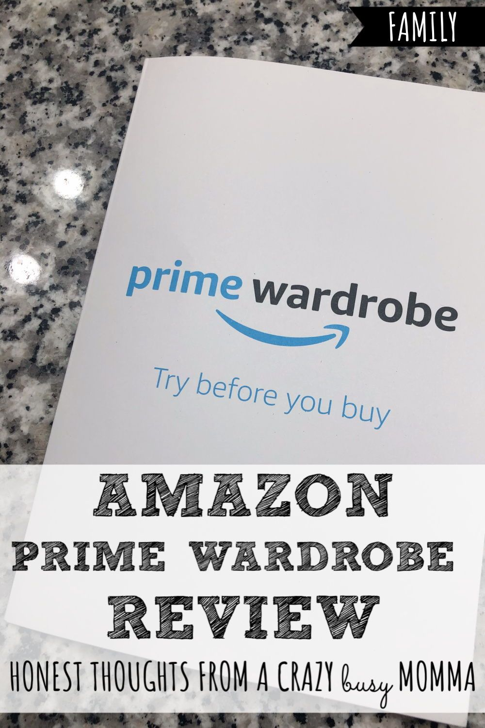 Amazon Prime Wardrobe Review Working Mom Schedule Parenting