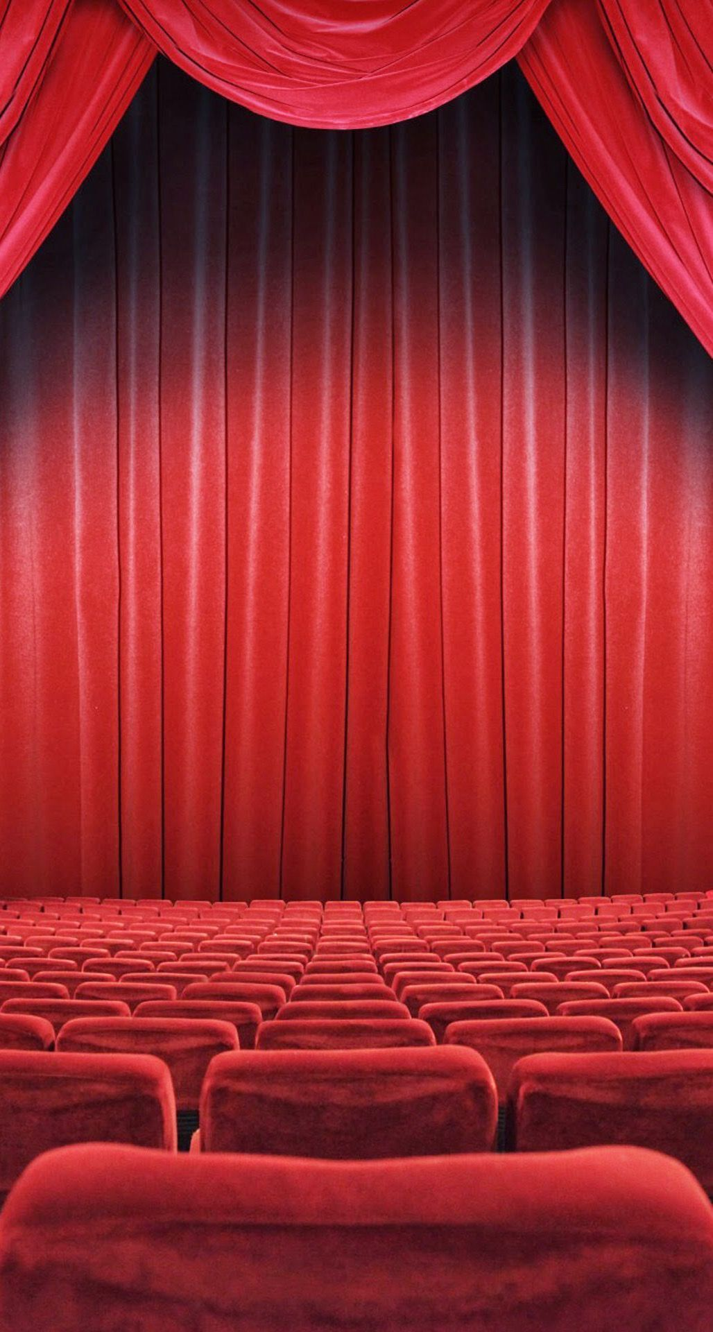 Theater Wallpaper 41 Movie Theater Wallpapers On In 2020 Red Curtains Movie Theater Theater Seating