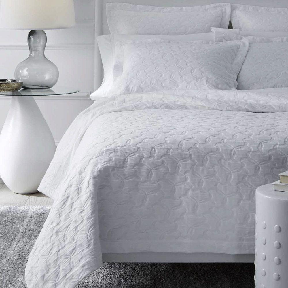Lansone Coverlet Modern Bed Coverlets White Bedroom