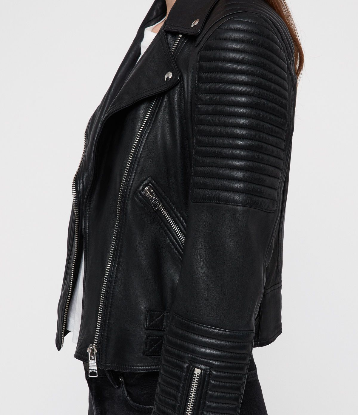 Estella Leather Biker Jacket in 2020 Leather jackets