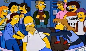 Homer Simpson vs standpoint theory … the episode Homer Badman.