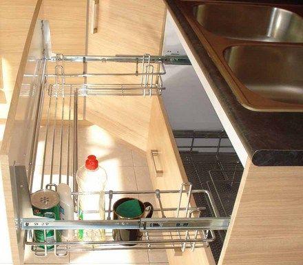 Fotos de accesorios y herrajes para cocina y closet for Accesorios de cocina industrial