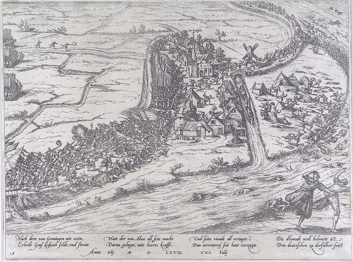 Resultado de imagen de batalla de Groninga 1568