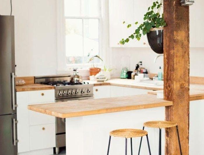 1 cuisine americaine amenagement petite cuisine avec un - Cuisine Avec Bar Americain