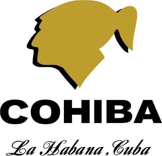 cigar + logo | The classic Cohiba Indian head silhouette logo with