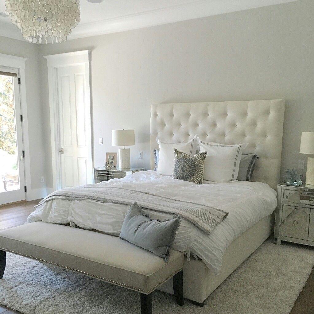 Behr Silver Drop Master bedroom paint, Bedroom colors