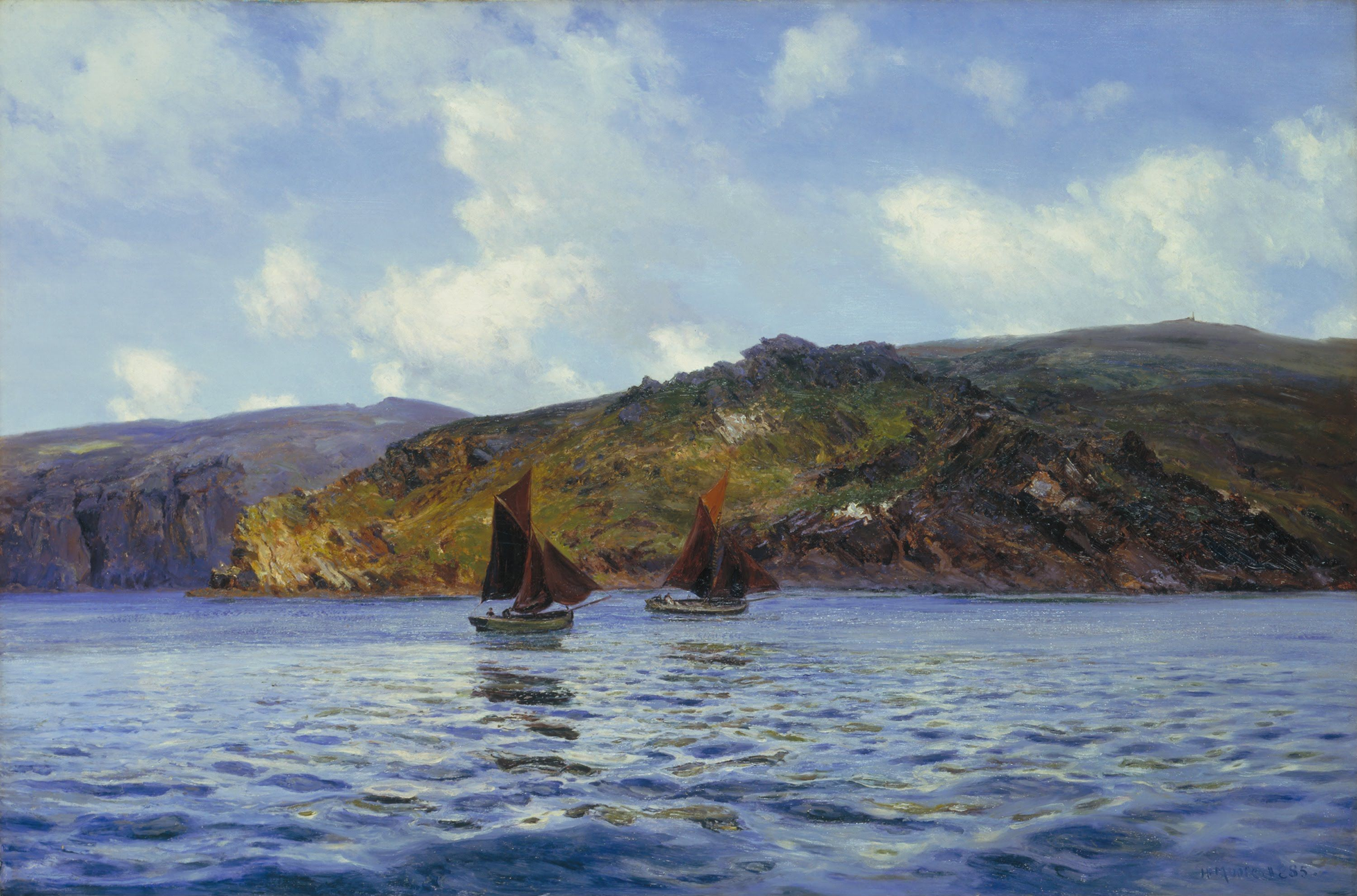 Henry Moore - Catspaws off the Land