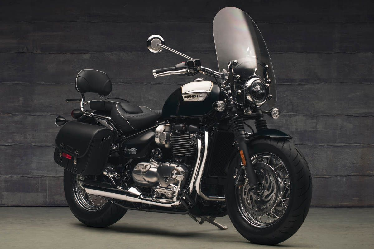 The New 2018 Triumph Bonneville Speedmaster Triumph Speedmaster