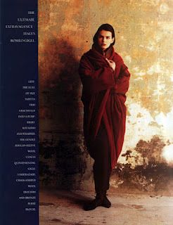 Atelier: Vintage Romeo Gigli   He was my favourite designer in uni