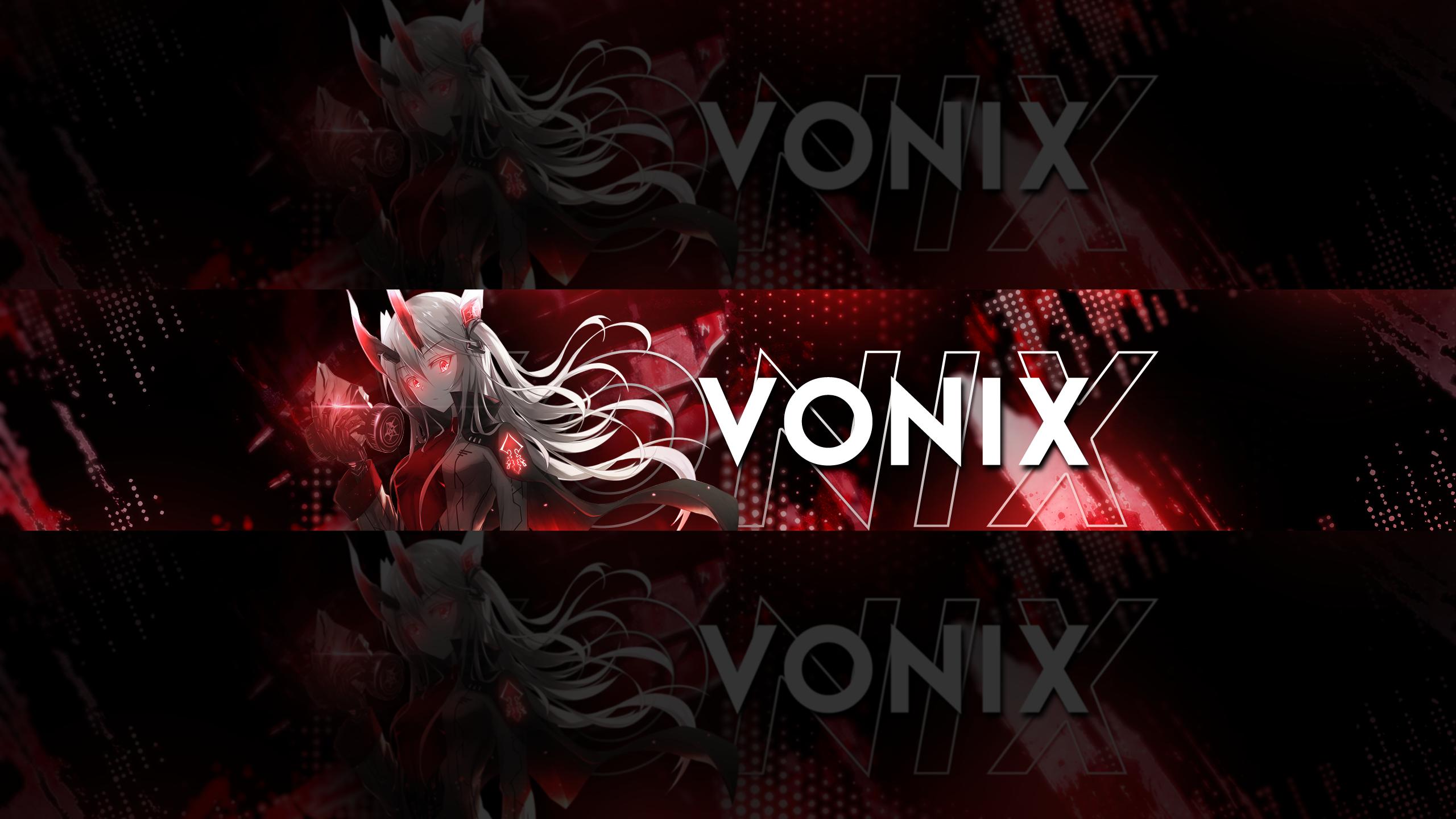 Vonix Nightcore Youtube Headeri Anime Youtube banner If