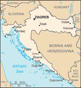 Kroatien Reisefuhrer Wikitravel Kroatien Kroatien Karte Kroatien Urlaub
