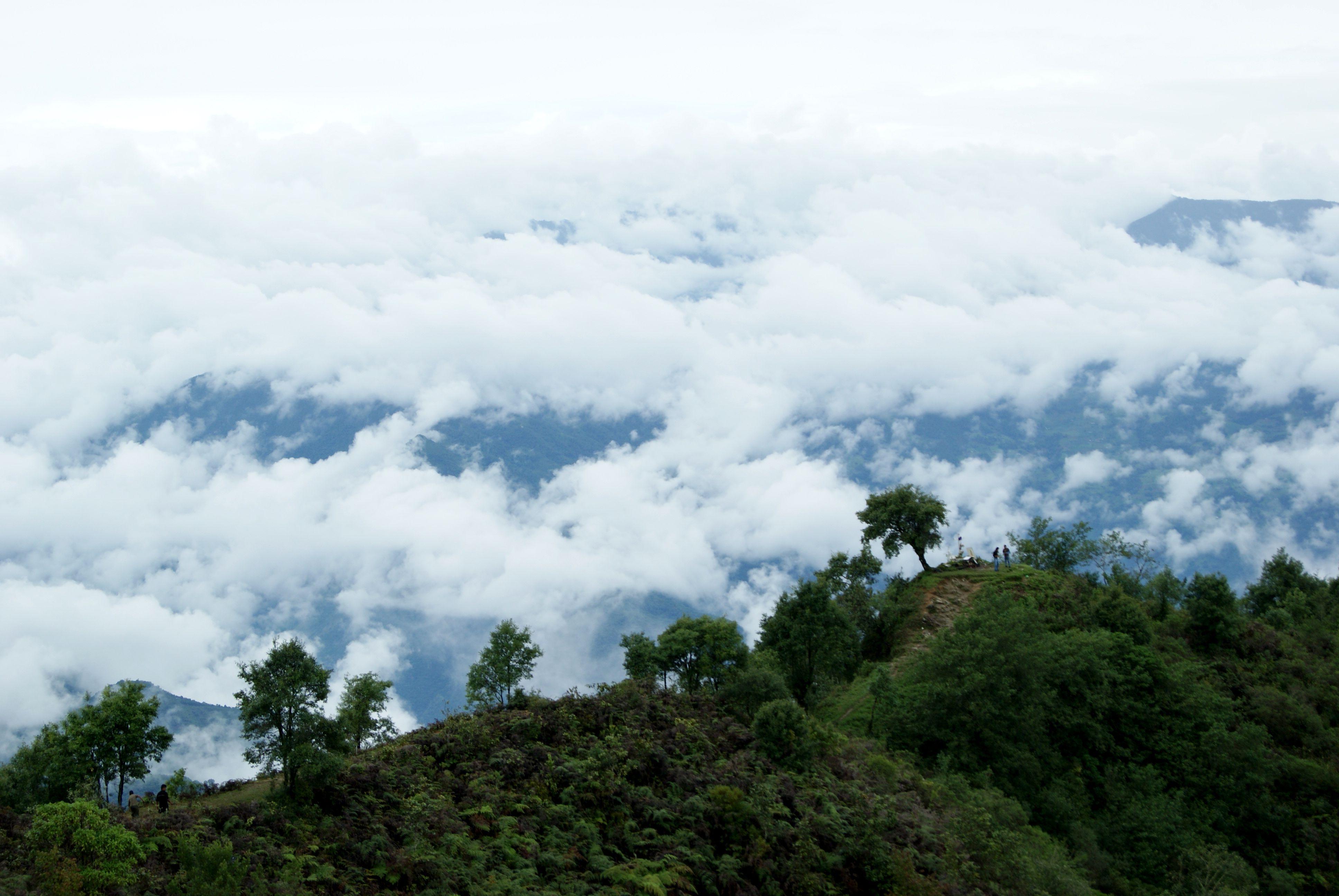 Cerro de la adoración en Huautla de Jiménez