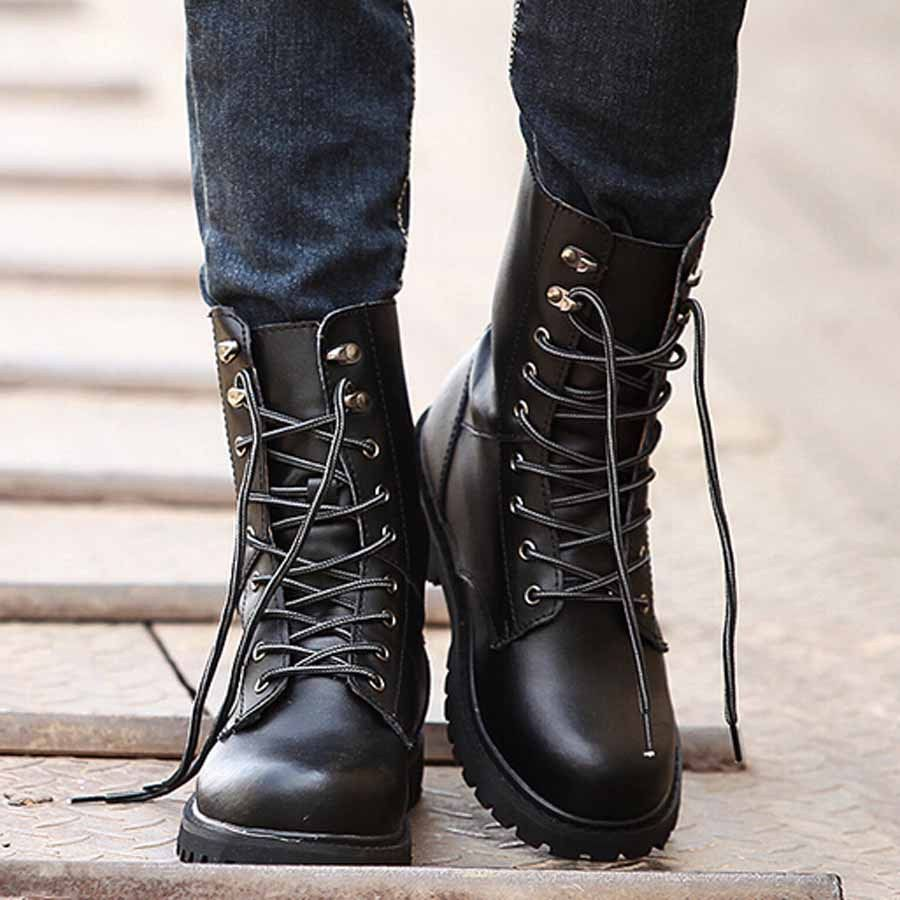 1000  images about Botas masculinas con cordones on Pinterest