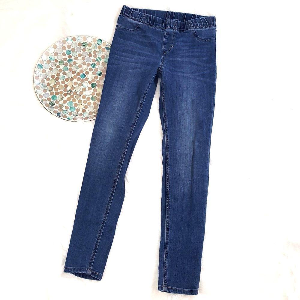 ee27e7e556952 Cherokee Girls Jegging Size 14 Blue Elastic Waist Skinny Stretch Jeans  o1106 #Cherokee #LeggingsJeggings #Everyday