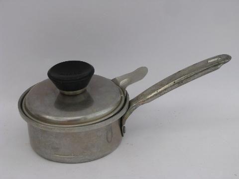 50 S Vintage Aluminum Cookware Small Mirro Egg Poacher