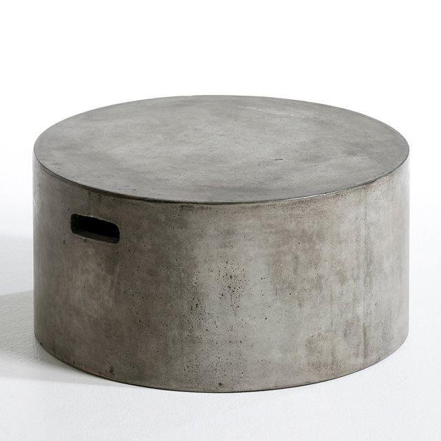 Table basse Tatum, ciment AM.PM | salon | Table Basse, Table et ...