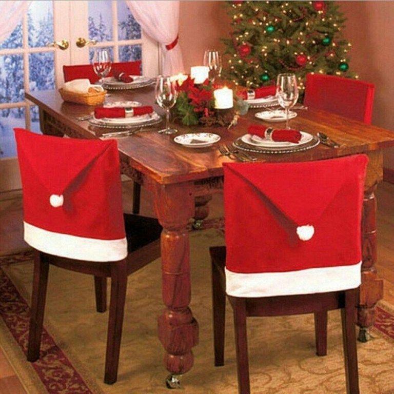 Elegant Table Christmas Decoration Ideas 04 Christmas Dinner