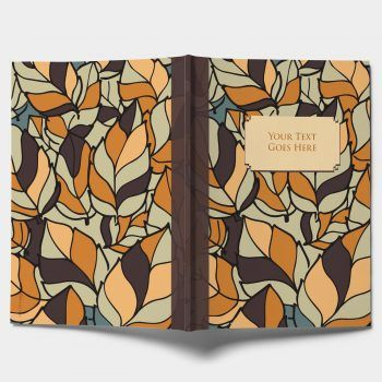 Autumn Leaves. Everyone loves a notebook. At least they should. And how can you not, when they come in stunning designs that flow seamlessly from cover to cover.  The notebooks are A5 in size with 75 pages each.  You can choose the inside pages to be either blank or lined.  Each notebook features an original design created especially for NAMŌH and is made in UK  Moreover, each notebook comes with your very own personalisation in metallic foil writing!