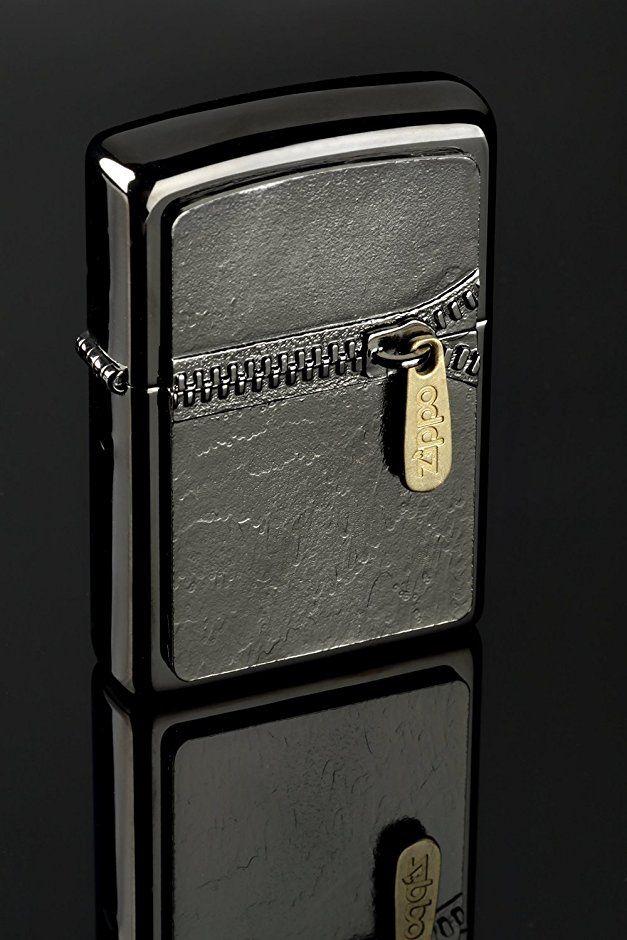 Zippo 2 004 581 Feuerzeug Zipper Black Edition Ebony Regular