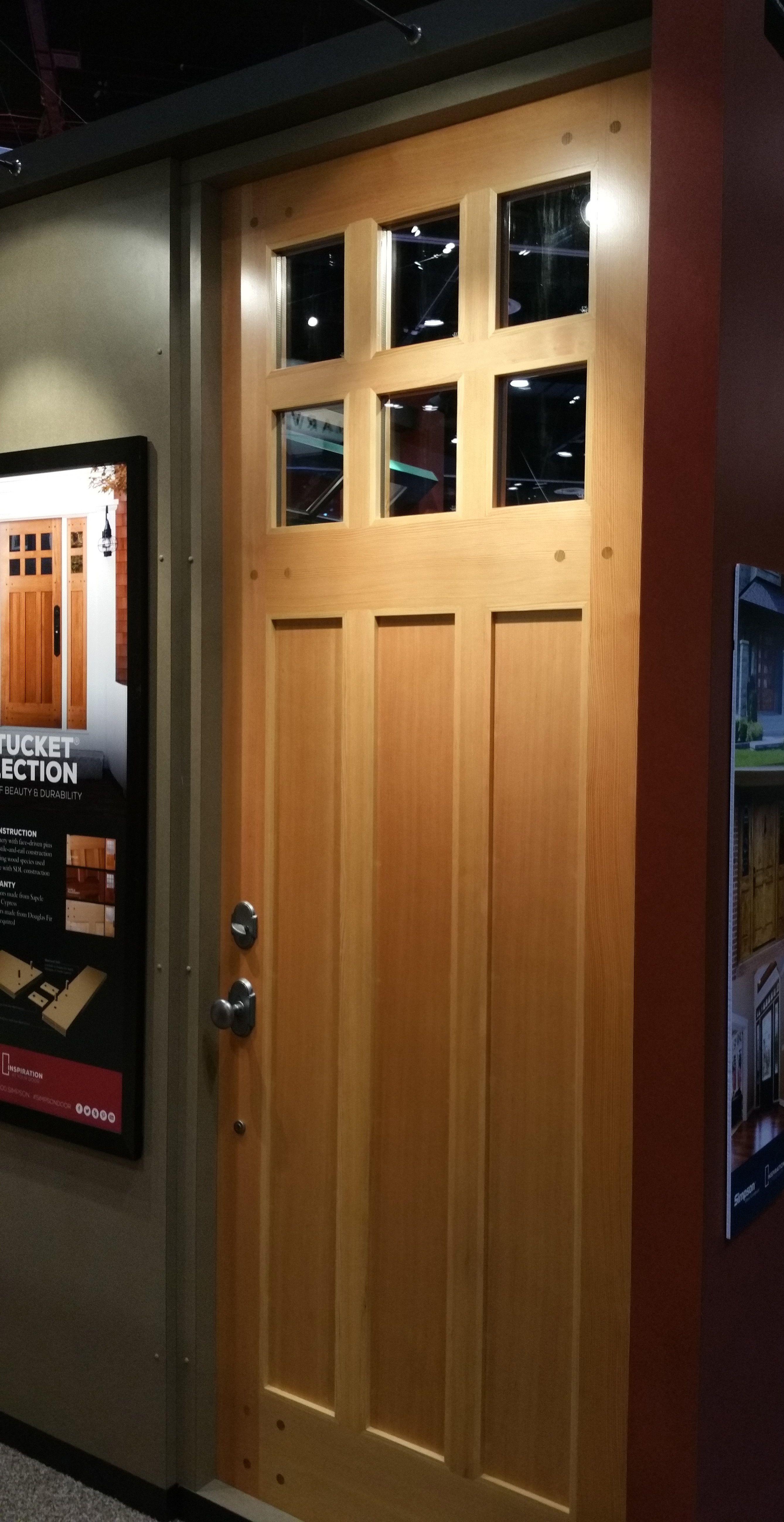 77860 Nantucket Collection In Douglas Fir Modern Front Door Entry Doors Front Door