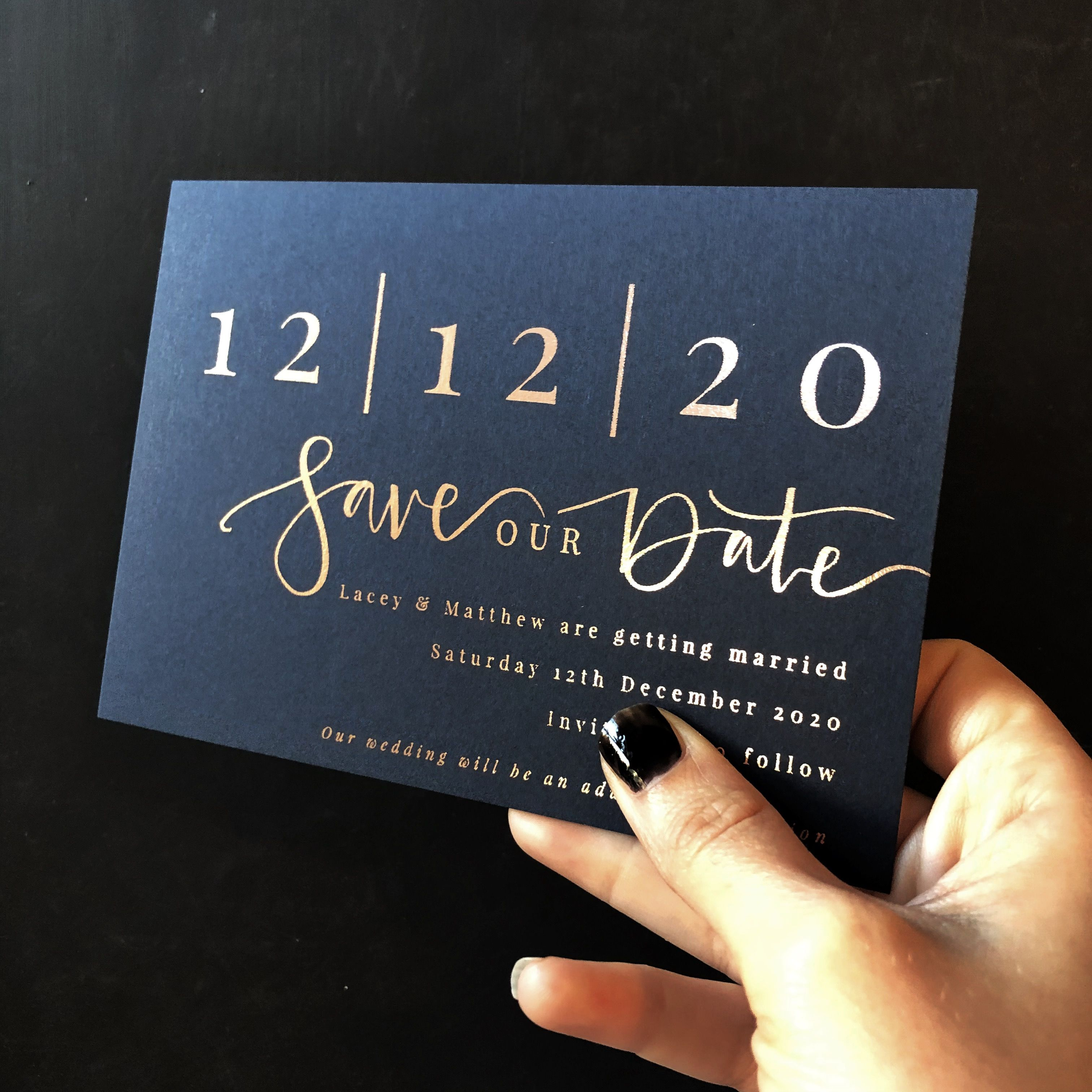 How to Order your Wedding Stationery | The Golden Letter, London