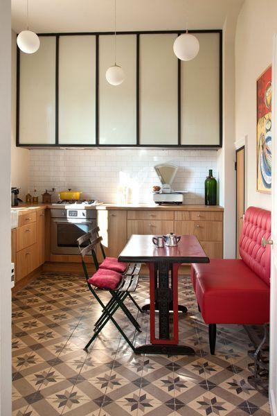 Les carreaux de ciment donnent du cachet aux cuisines cuisine deco