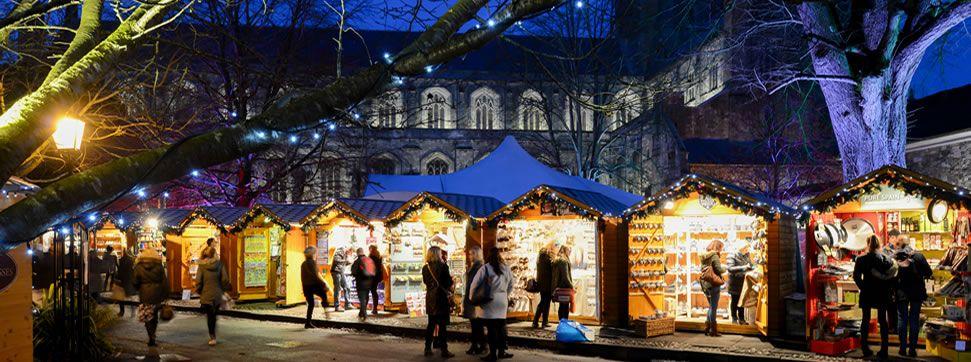Kết quả hình ảnh cho Winchester Cathedral Christmas Market