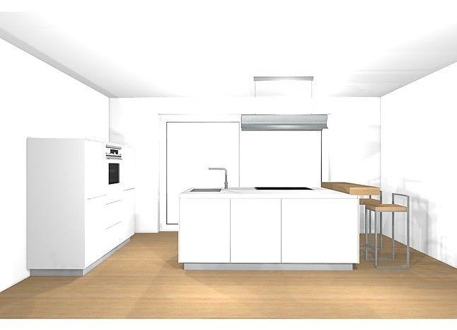 bulthaup b3 Funktionelle Insel mit kleiner Wandzeile Küche - ikea küche online planen