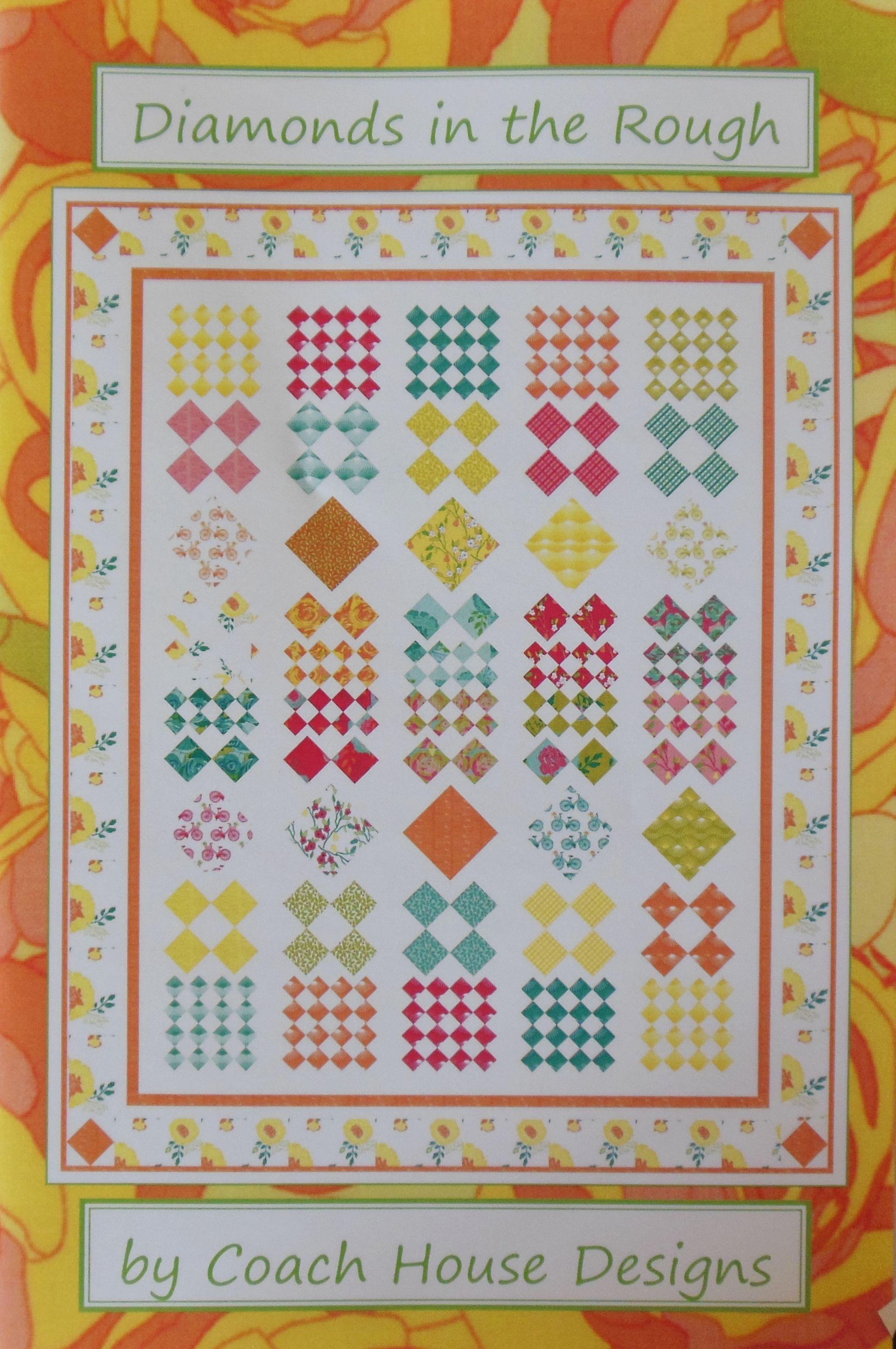 Coach House Designs by Barbara Cherniwchan pattern - Diamonds in the