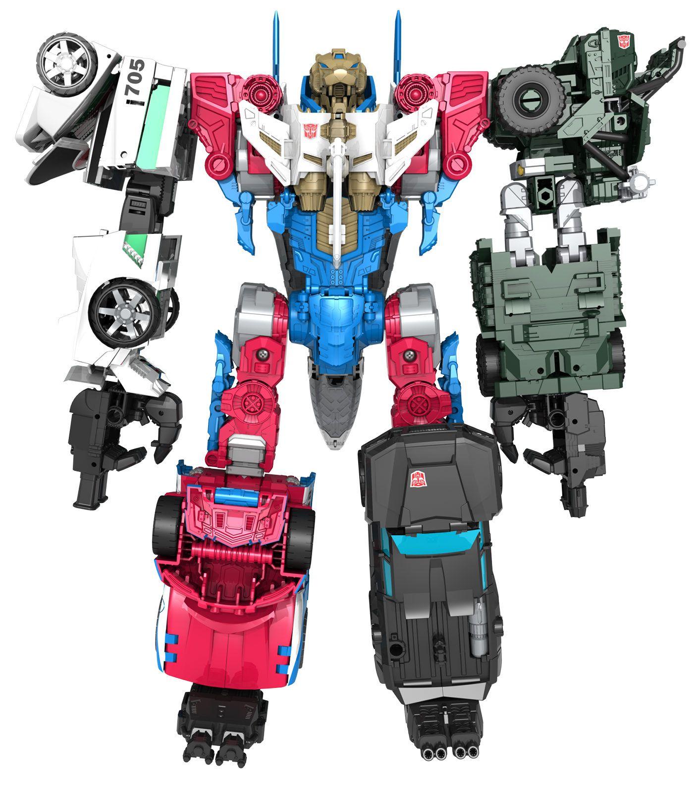 Transformers Combiner Wars TRAILBREAKER Combiner Part