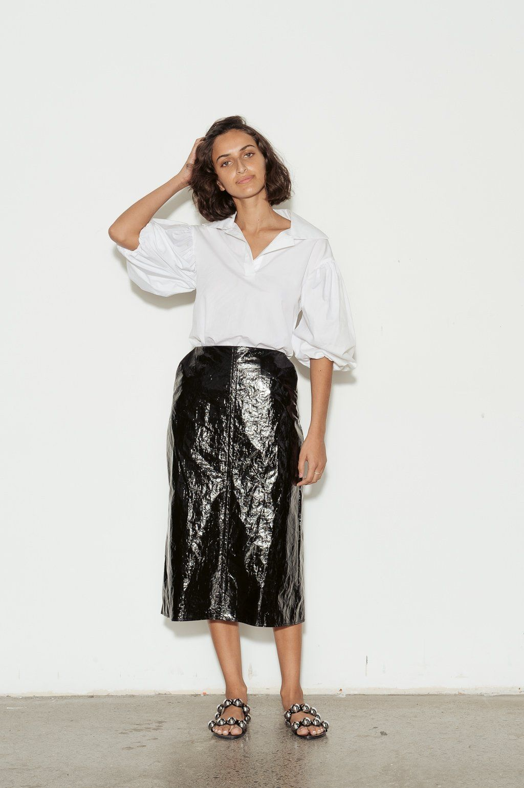 3fd0b80199 Faux Patent Leather Skirts | Huston Fislar Photography