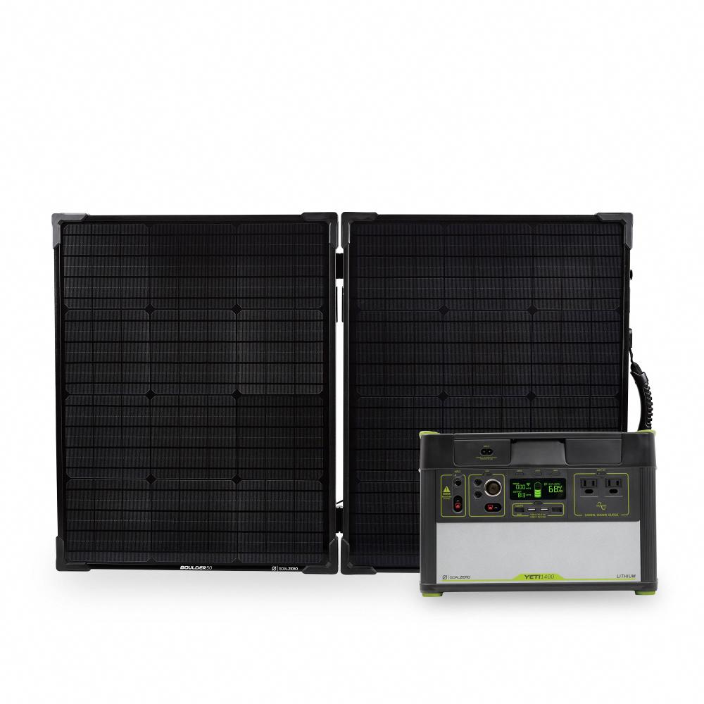 Yeti 1400 Lithium Portable Power Station Wifi App Enabled Solar Generator Goal Zero Goal Zero Solarpanels Solarenergy Sola Solar Generator Solar Panel System Solar Energy Panels